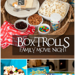 Family Movie Night – Boxtrolls and a DIY Popcorn Bar