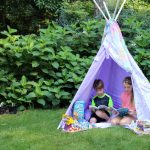 DIY Teepee for Reading and Other Ideas for Getting Your Kids to Read in the Summer