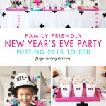 Family New Years Eve Party: Pajama Party Down!