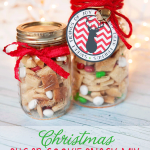 Sugar Cookie Snack Mix Christmas Neighbor Gift or Teacher Gift