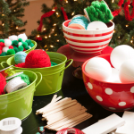 Children's Ornament Making Party and Kid Christmas Crafts