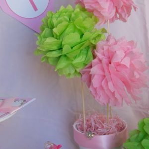 Tissue Pouf Ball Pom Pom Arrangement Tutorial and How To- Part 1