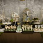 Party Inspiration: Terrarium Inspired Wedding Dessert Table