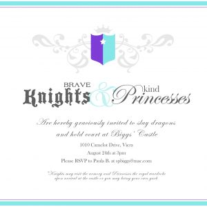 Knights & Princess Party Playdate