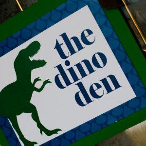 {Real Party} Modern Dinosaur Birthday