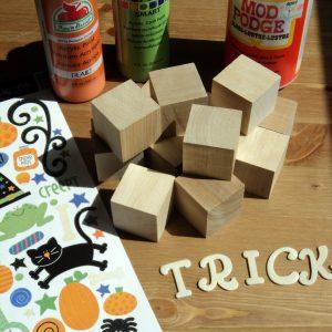 Halloween Day 26: {Guest Blogger} Halloween Blocks Tutorial