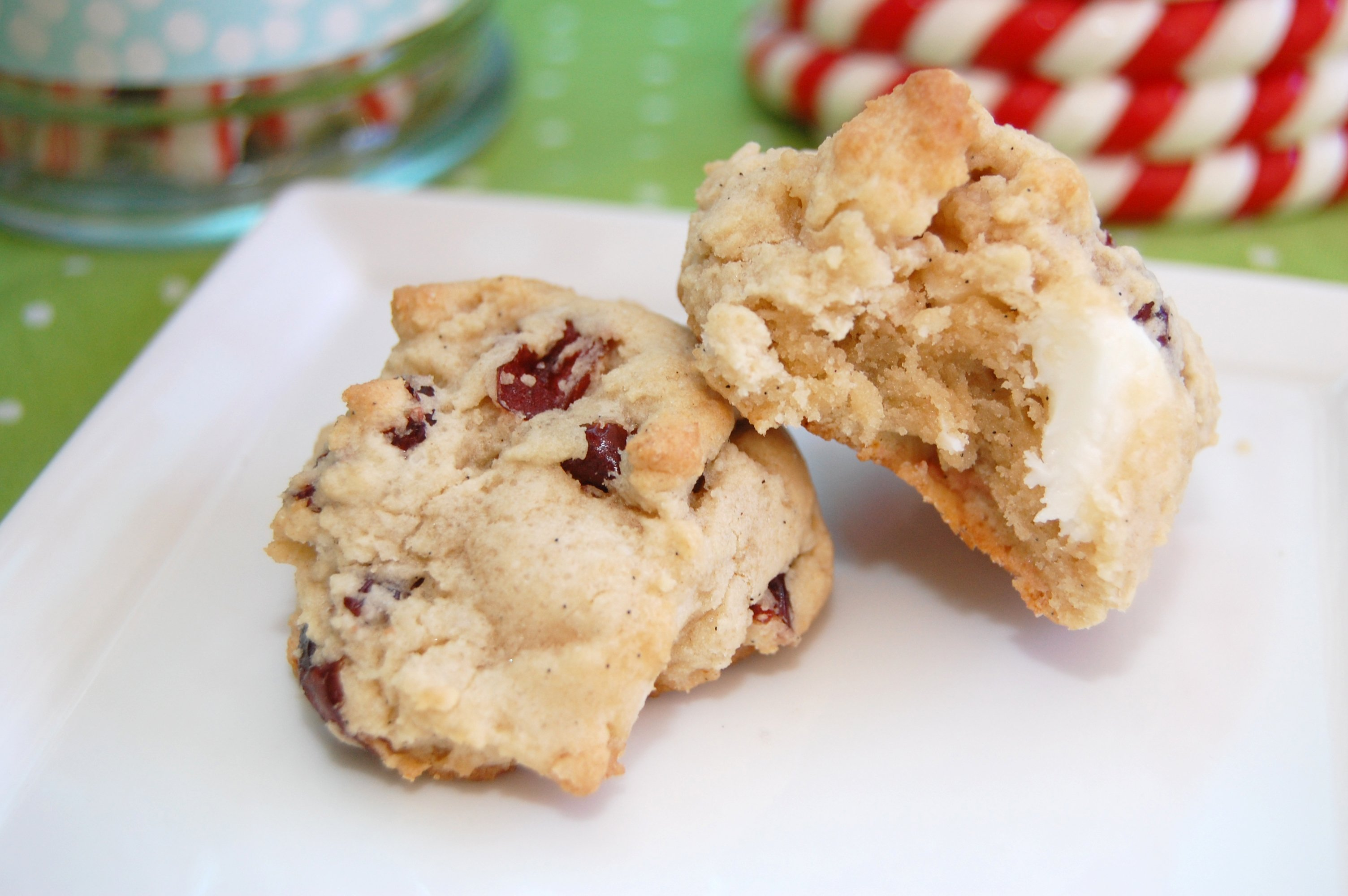 chocolate cherry chunk cookies - Frog Prince Paperie