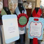 {FREEBIE} Witty Christmas Wine Tags