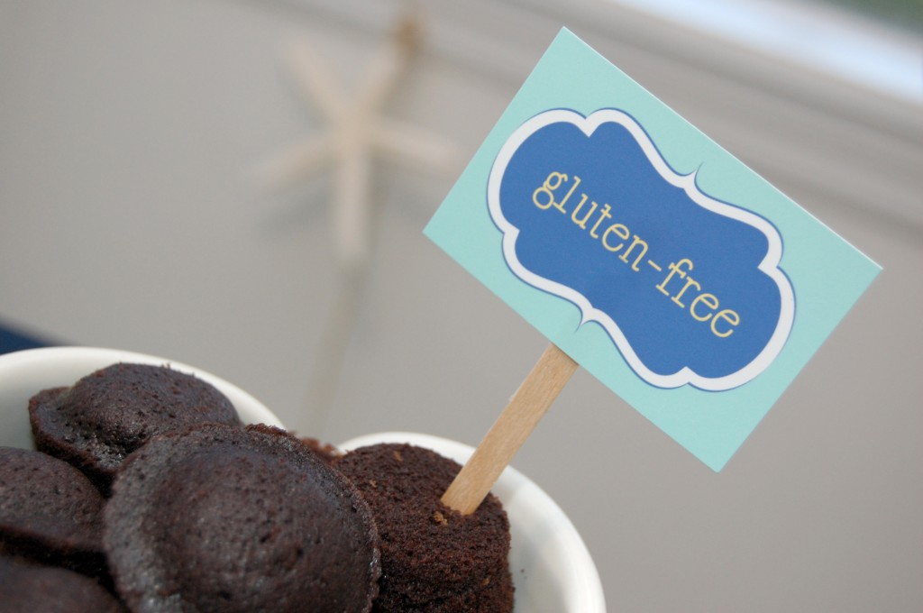 Allergy Free Party Food Labels