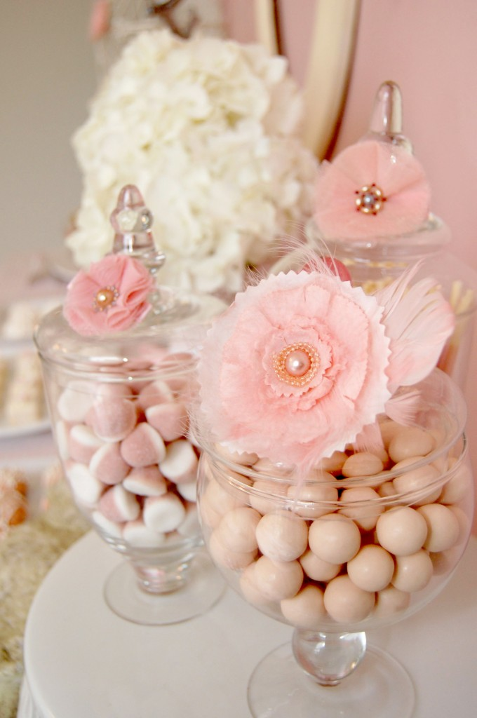 baby shower ideas candies buffets pink baby shower candies bar