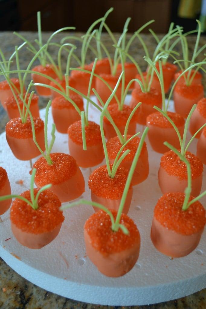 Marshmallow worteltjes
