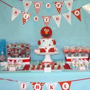 This Spectacular Elmo Party For One Tiny Love Comes From A Very Fabulous Client Of Mine Cecelia All The Way Down Under