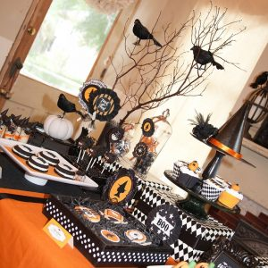 A Bewitching Halloween Party