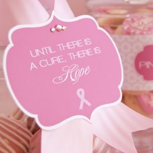 {Free Printables} Breast Cancer Awareness Month