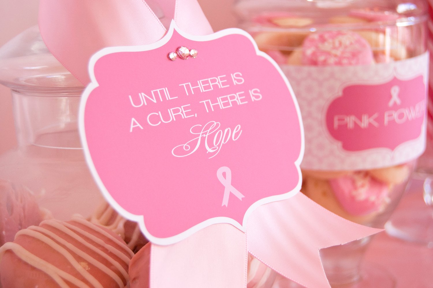 free printables breast cancer awareness month october is breast cancer - Breast Cancer Decorations