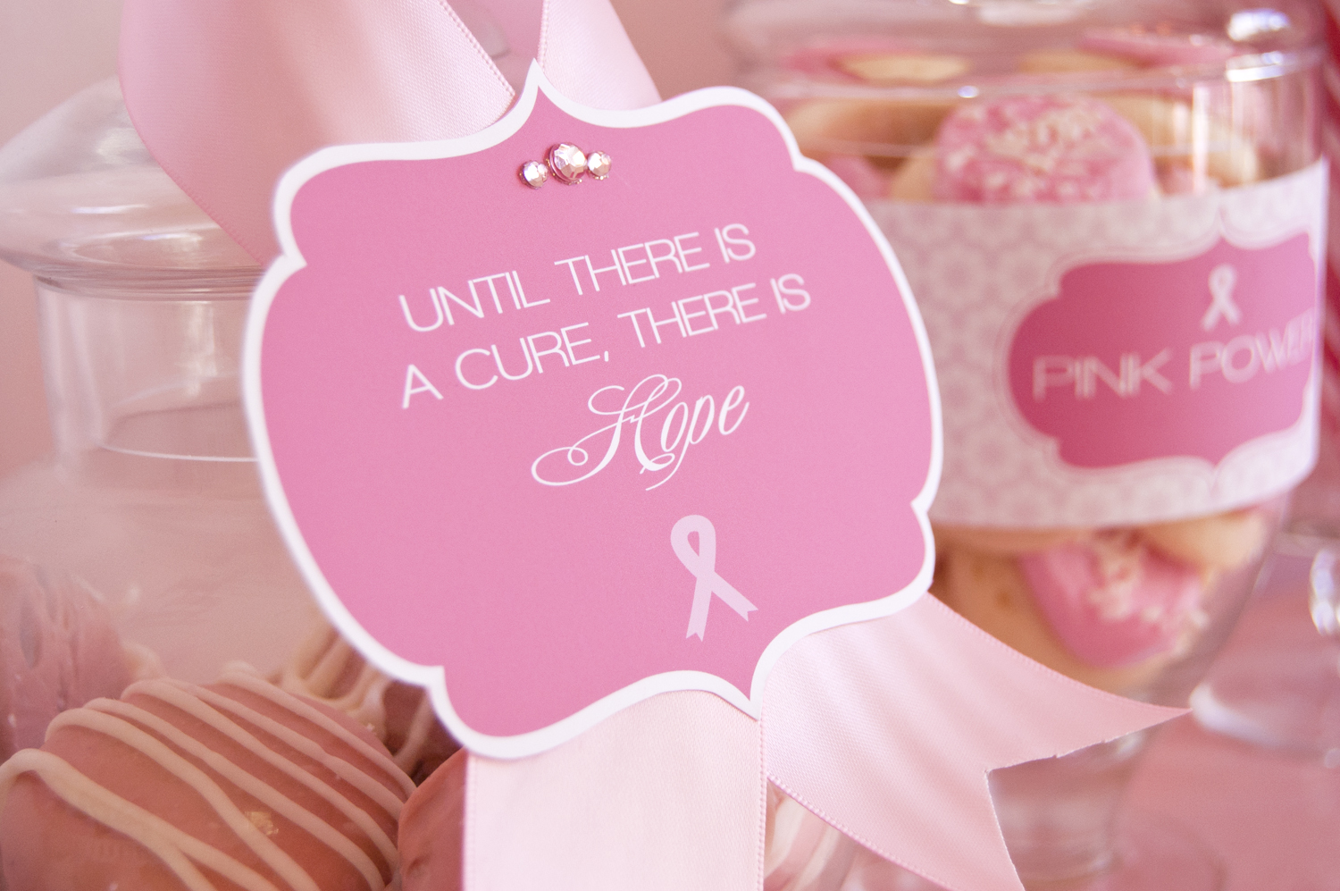 Hope for a Cure - Breast Cancer Awareness Month - Frog Prince Paperie