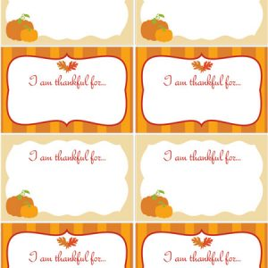 Thankful for YOU! {Free Printable}