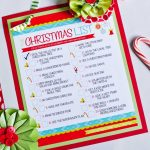 THE Christmas To-Do List {Free Printable}