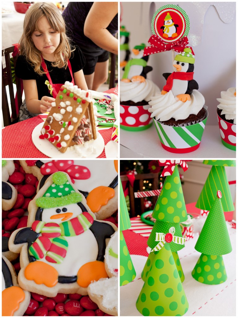 Real Party} A Penguin Christmas Party - Frog Prince Paperie