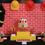{REAL PARTY} Fireman Baby Shower