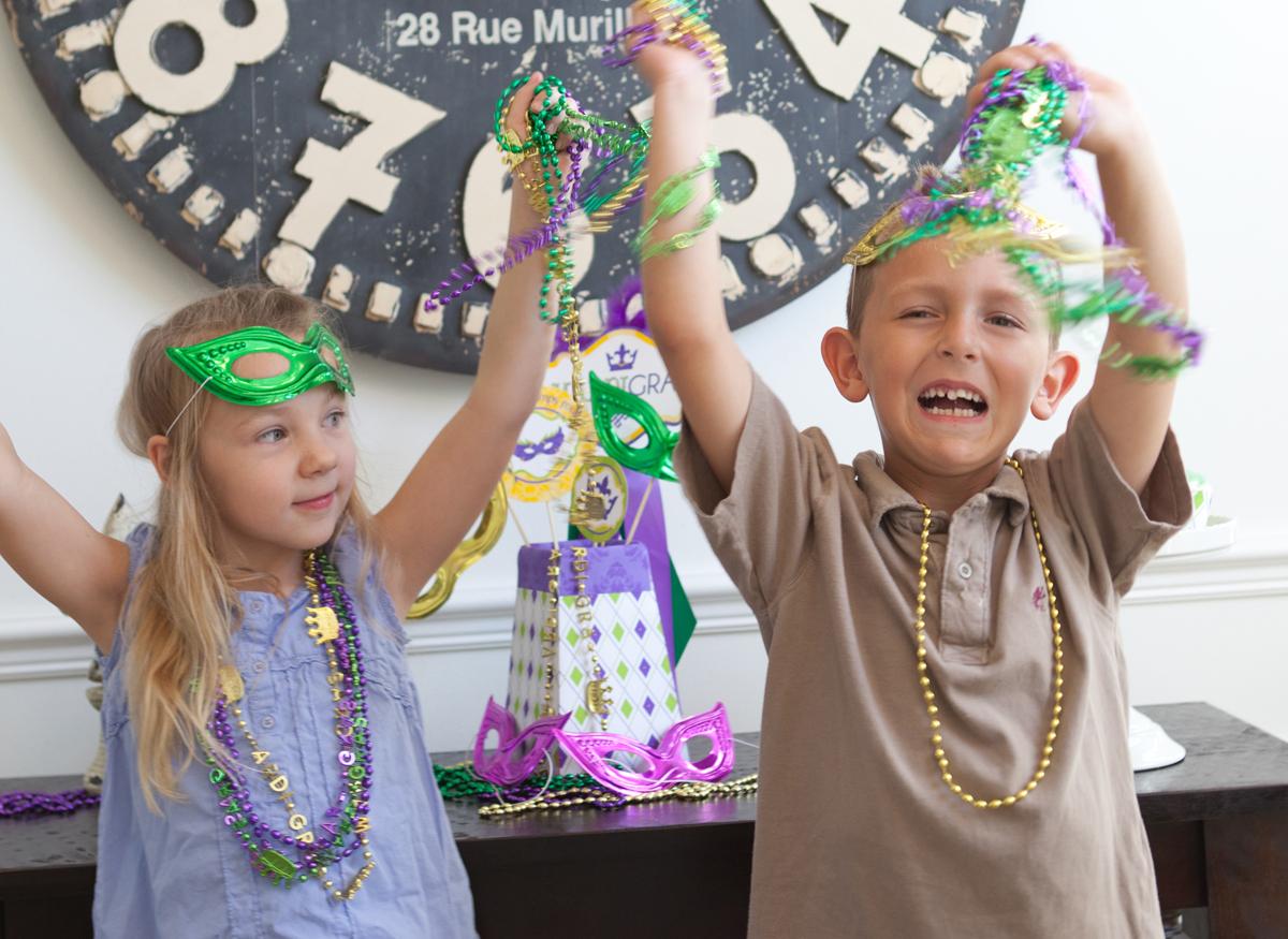 Uncategorized Kids Mardi Gras mardi gras party a little dinner celebration frog prince paperie ideas