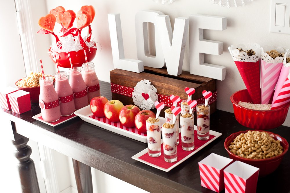 healthy valentines day party options
