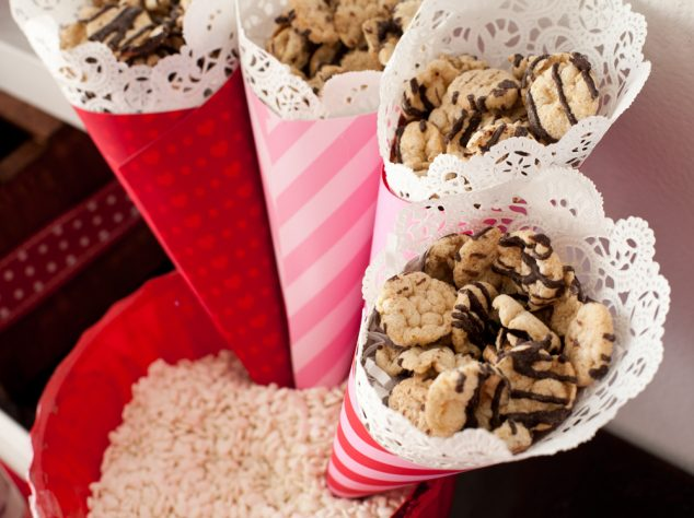 Healthy Valentine's Day party options