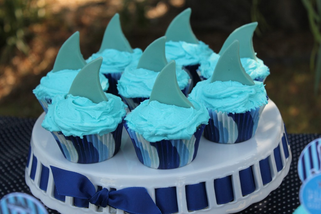 Shark Themed Birthday Party Fun Shark Birthday Party