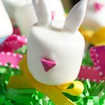 Easter Bunny Marshmallow Pops Tutorial and How-To