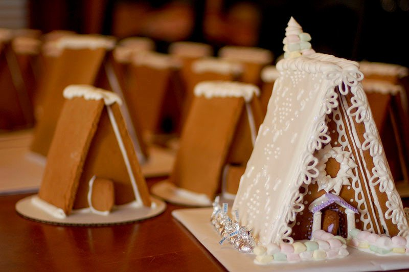 How To Build A Perfect Gingerbread House And Gingerbread Recipe