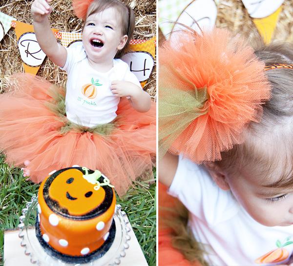 Pumpkin Smash Cake: Little Pumpkin Fall Harvest Party