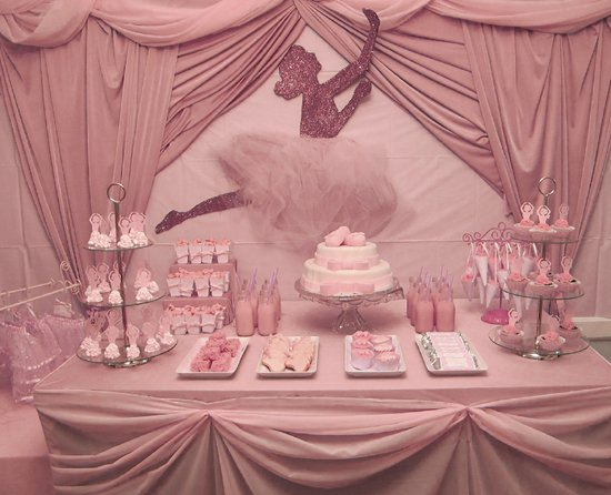 ballerina-party-dessert-table