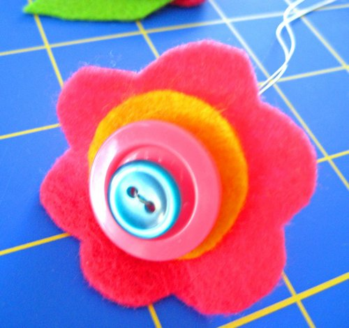 button flower tutorial 1