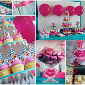 Friday's Fabulous Five Fetes: Girly First Birthday Parties