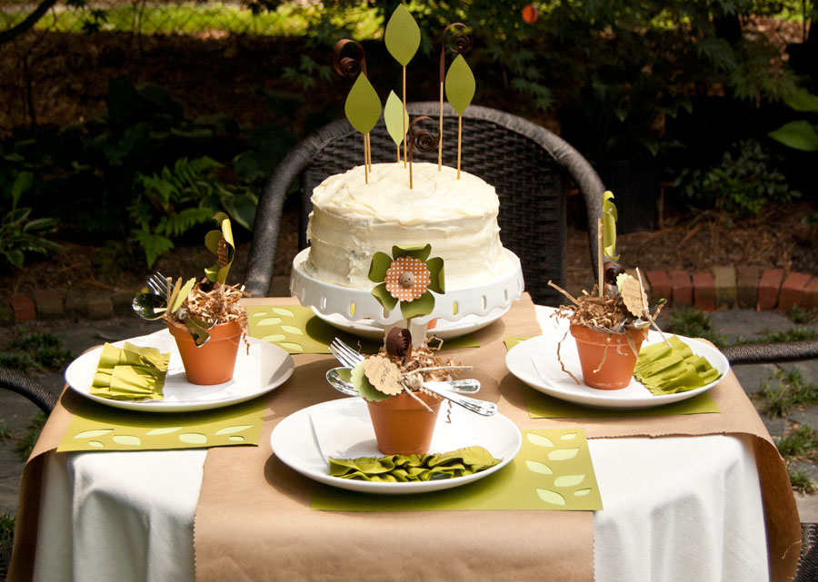 """""""Plant a Seed"""" Eco-Friendly Birthday Party"""