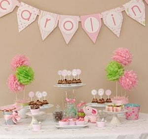 Real Party: Pink Elephant Baby Shower