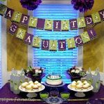Real Parties: A Purple Graduation/Birthday Party