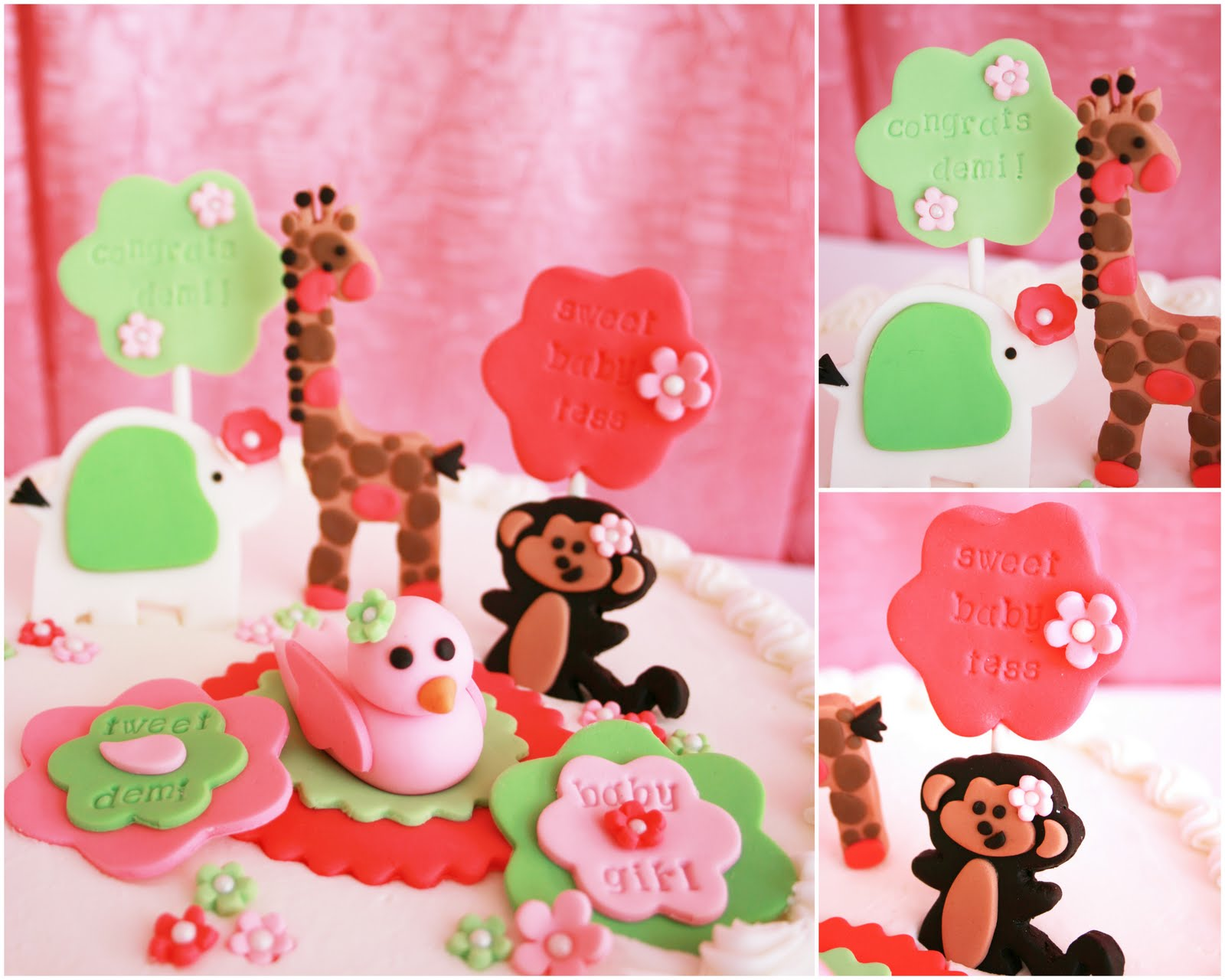 pink jungle safari baby shower printables ideas decorations pictures
