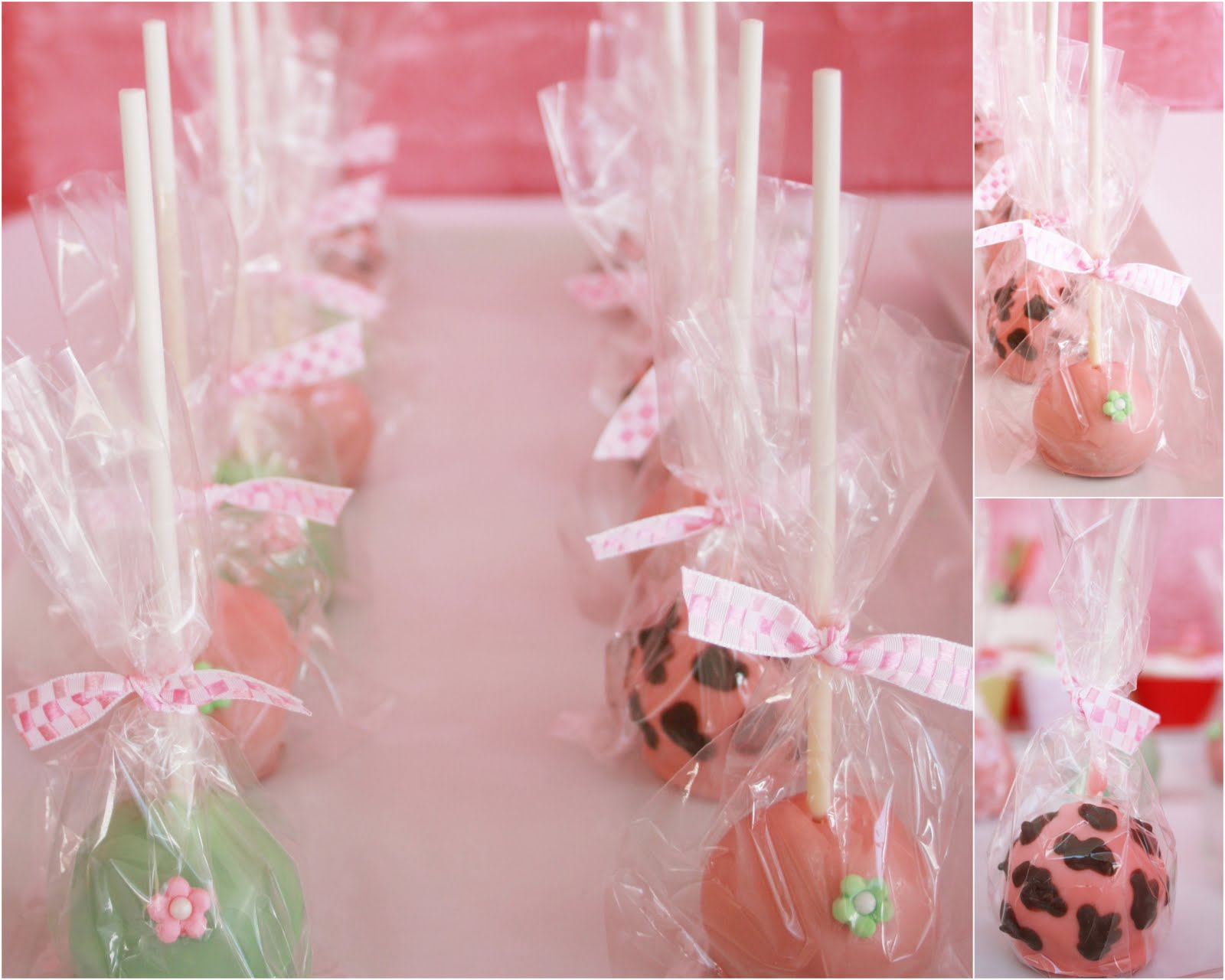 Real Party} Pink Jungle Baby Shower - Frog Prince Paperie
