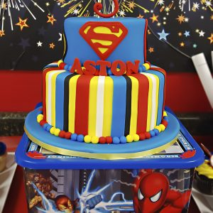 {Real Party} Superhero Birthday – Aston's Amazing Day
