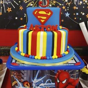 {Real Party} Superhero Birthday – Aston's Amazing Day