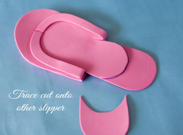 how to make shoes into slippers