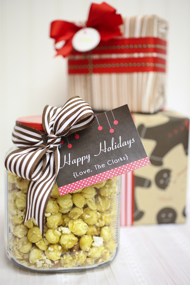 How to gift wrap cookies for christmas gifts