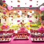 A Birthday in the Garden: Hot Pink and Orange for an Outrageous Event!
