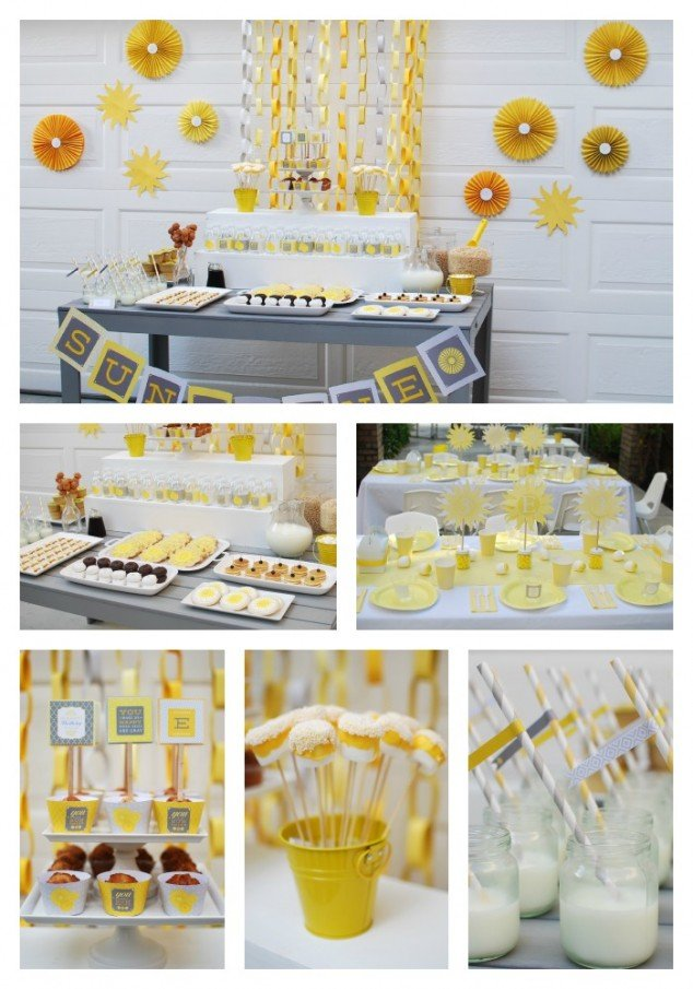 You Are My SunshineBreakfast Birthday Party Frog Prince Paperie