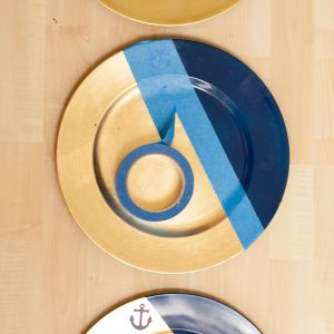 DIY Plate Chargers for Simple Elegance