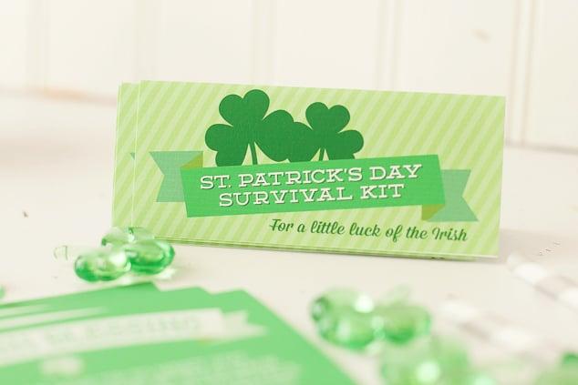 St. Patrick's Day free printable