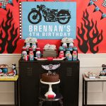 Motorcycle Rally Boy's Birthday Party {Real Party}