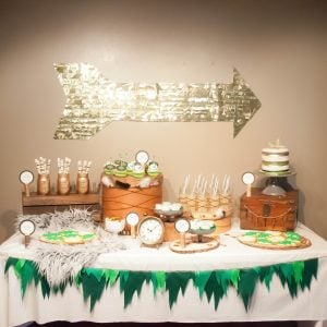 Fairy Tale Mash-Up Feathers and Arrows Boy's Birthday Party {Real Party}
