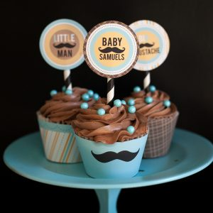 Mustache Bash Baby Shower {Real Party}
